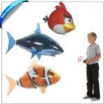 整蛊最佳空中遥控飞鱼 小丑鱼、鲨鱼、愤怒的小鸟三样可选 尼龙膜 正品 充氦气整蛊指数100%