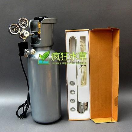 疯狂水草 华宸二氧化碳钢瓶套装 co2气瓶 水族水草专业 有视频