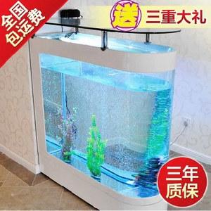 新品!意牌子弹头水族箱 屏风子弹头鱼缸 屏风生态鱼缸 可定做