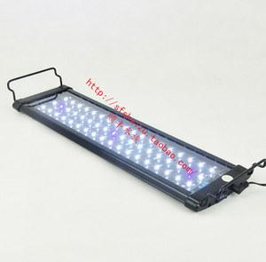奥德赛 超节能高亮度鱼缸水族箱LED灯 水草灯架 拉杆伸缩照明灯具