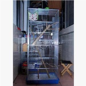 龙猫笼 魔王松鼠笼子 118cm加高电镀笼 包邮 送基本用品