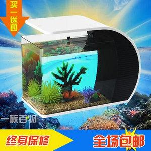 ADA KI-01热带小型鱼缸 桌面水族箱 玻璃生态鱼缸42cm