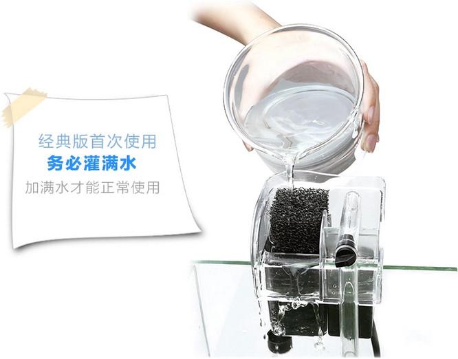 瀑布过滤器首页使用都要先加满水才能正常使用