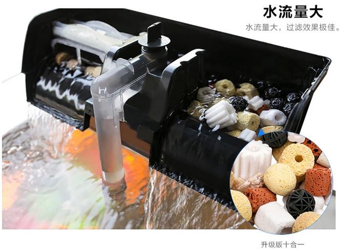 增强型升级版瀑布过滤器(超大滤槽)