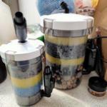 森森604B/602前置过滤桶串连壁挂滤桶评测实验